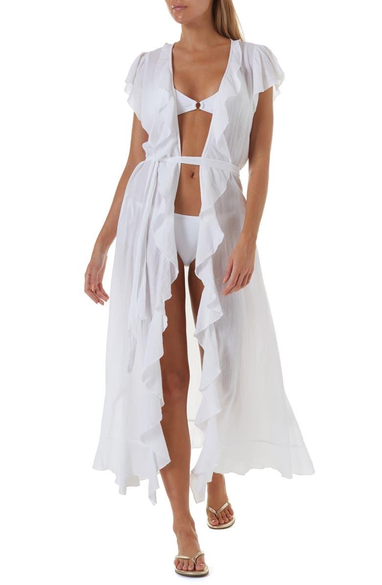 MELISSA ODABASH Brianna Maxi Cover-Up Maxi Dress, Main, color, 147