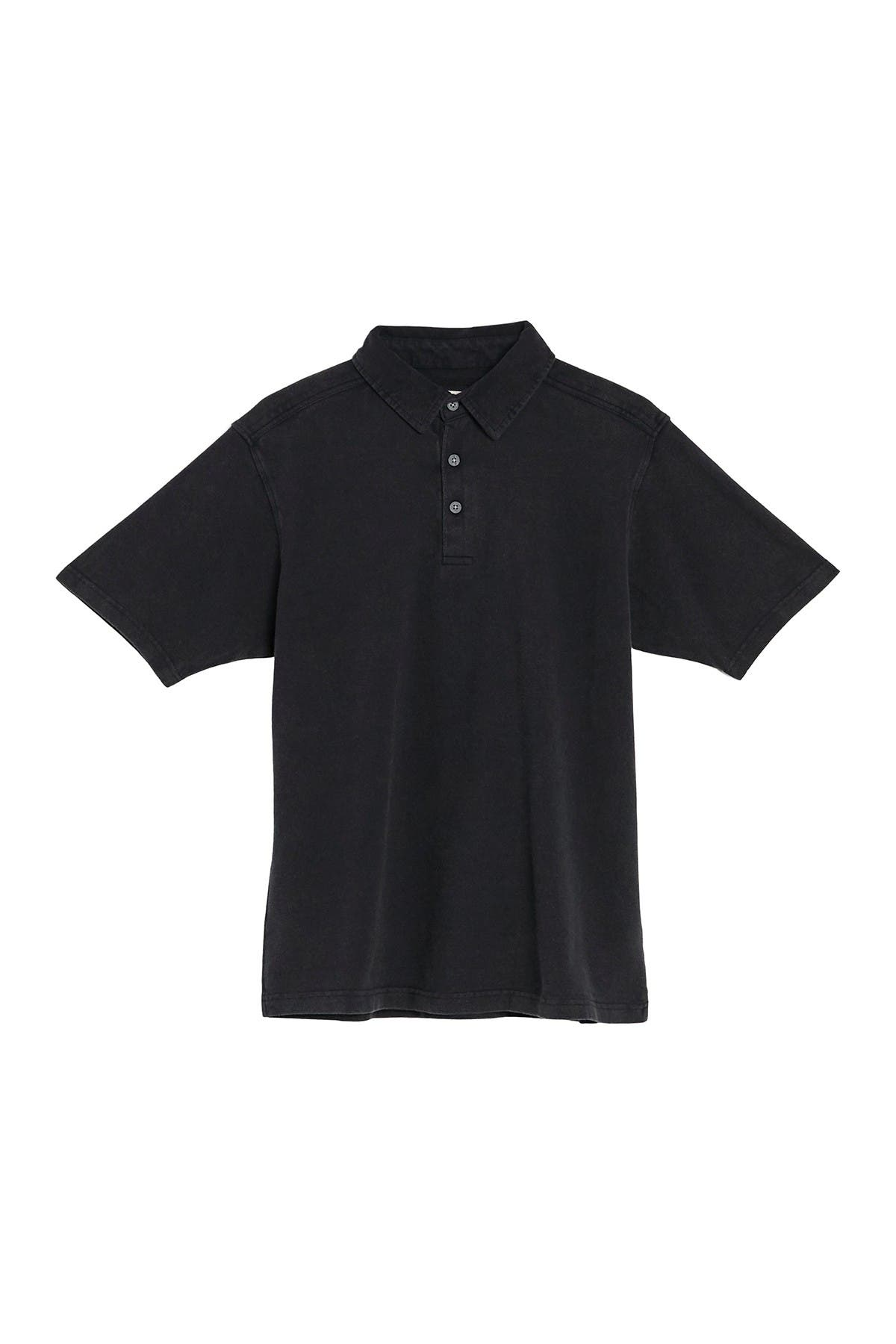 Image of COASTAORO Indy Pique Knit Short Sleeve Polo