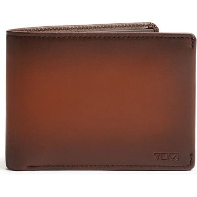 Tumi Nassau Rfid Leather Bifold Wallet - Brown