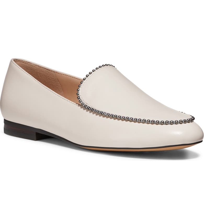 COACH Harper Ball Chain Loafer, Main, color, CHALK LEATHER
