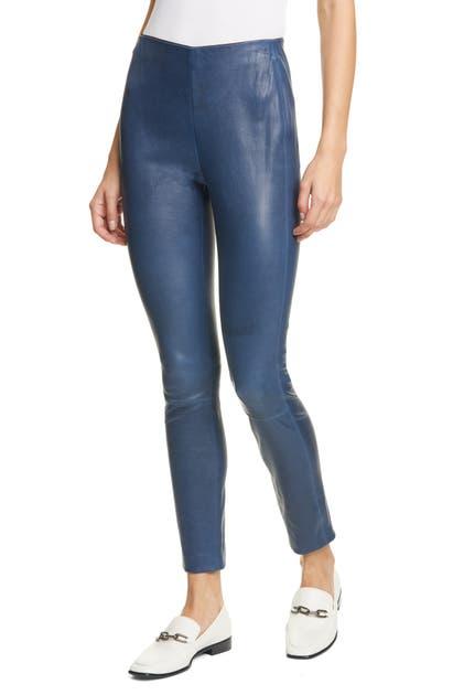 Rag & Bone Pants SIMONE LAMBSKIN LEATHER PANTS