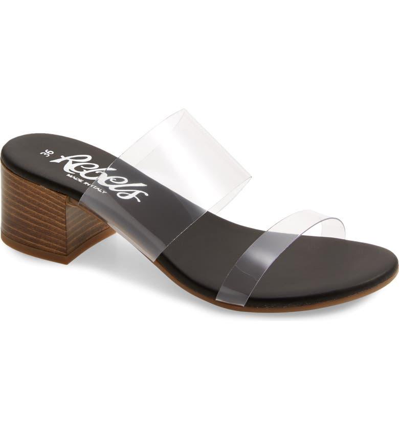 REBELS Annalisa Slide Sandal, Main, color, 001