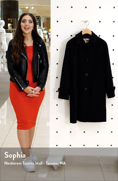 Wool Raglan Sleeve Coat, sales video thumbnail