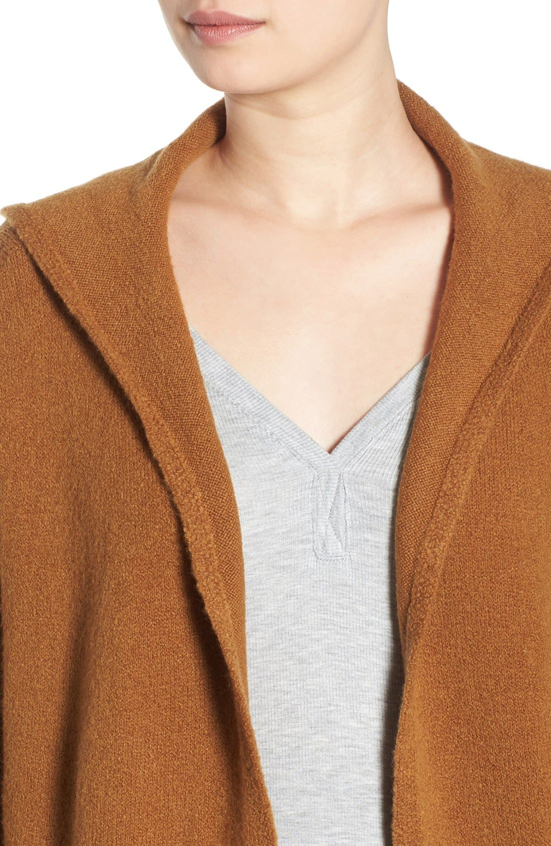 ,                             Hooded Longline Cardigan,                             Alternate thumbnail 10, color,                             236