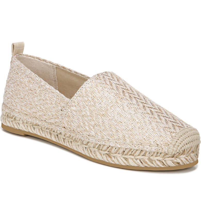 SAM EDELMAN Khloe Espadrille Flat, Main, color, SAND FABRIC