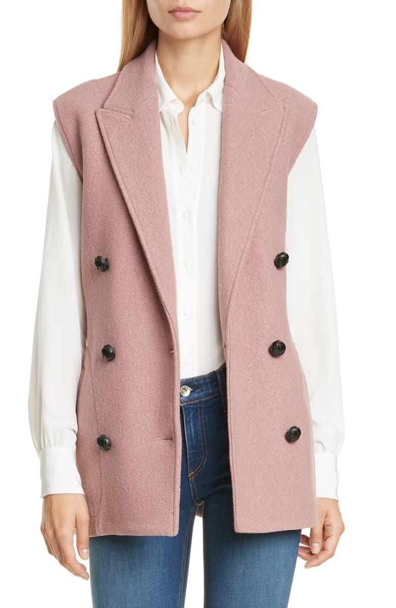 RAG & BONE Pearson Wool Bouclé Vest, Main, color, 690