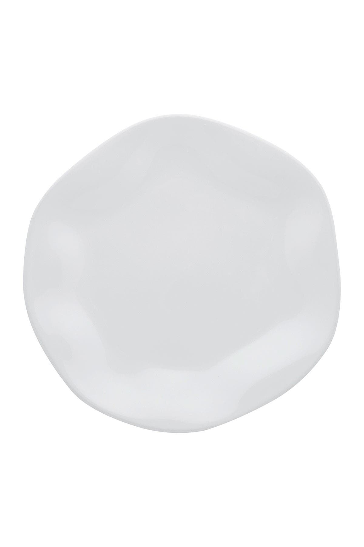 "Image of Manhattan Comfort RYO 6 Large 11.02"" Dinner Plates - White"