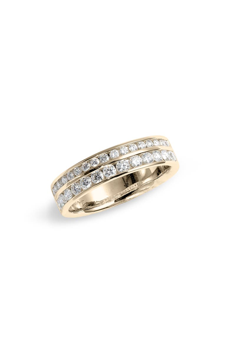 BONY LEVY Audrey Double Row Diamond Band, Main, color, 710
