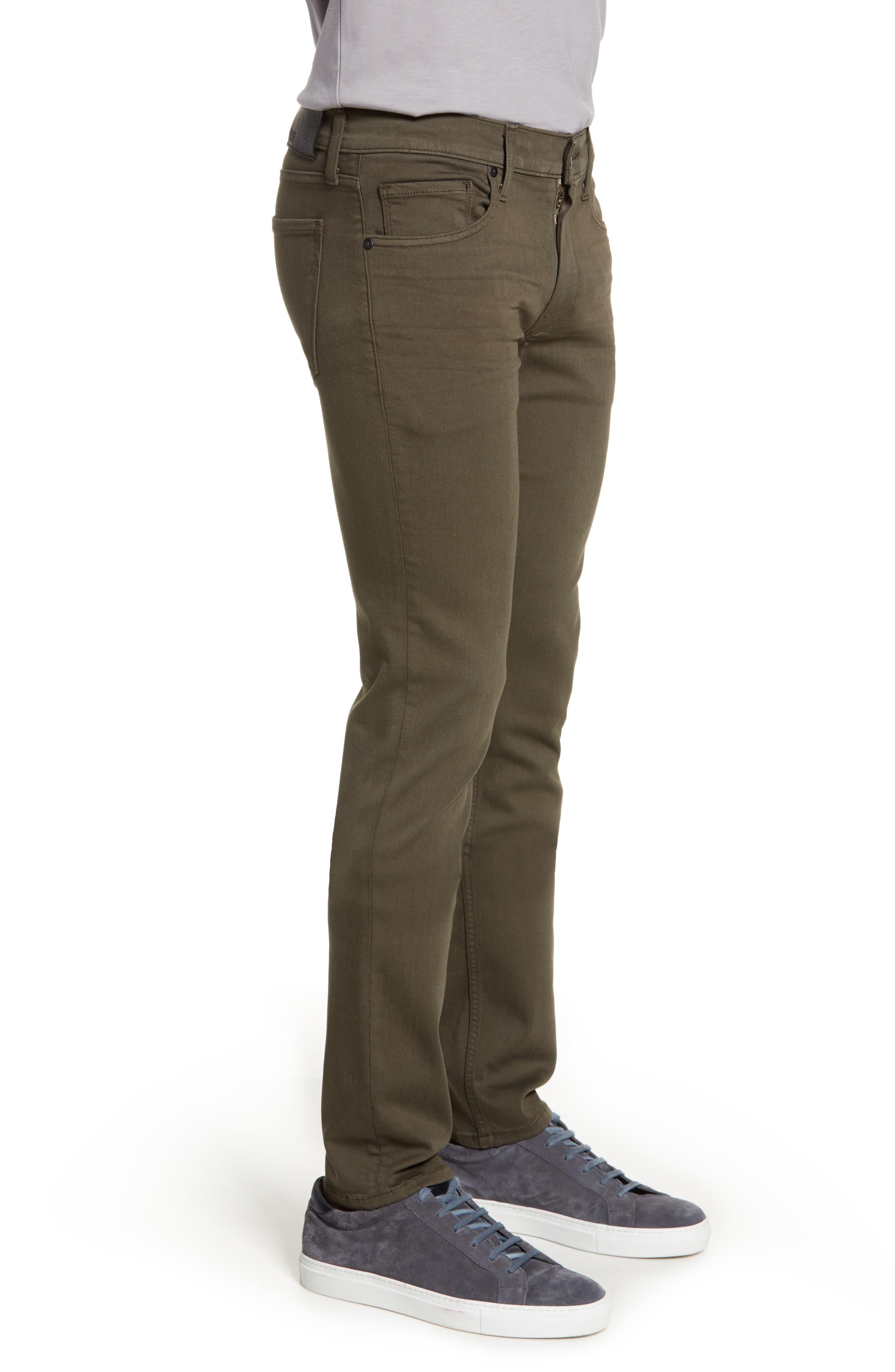 ,                             Transcend - Lennox Slim Fit Jeans,                             Alternate thumbnail 4, color,                             RIVER MOSS