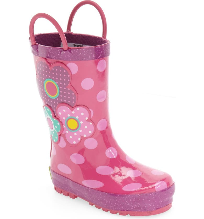 WESTERN CHIEF Flower Cutie Rain Boot, Main, color, PINK