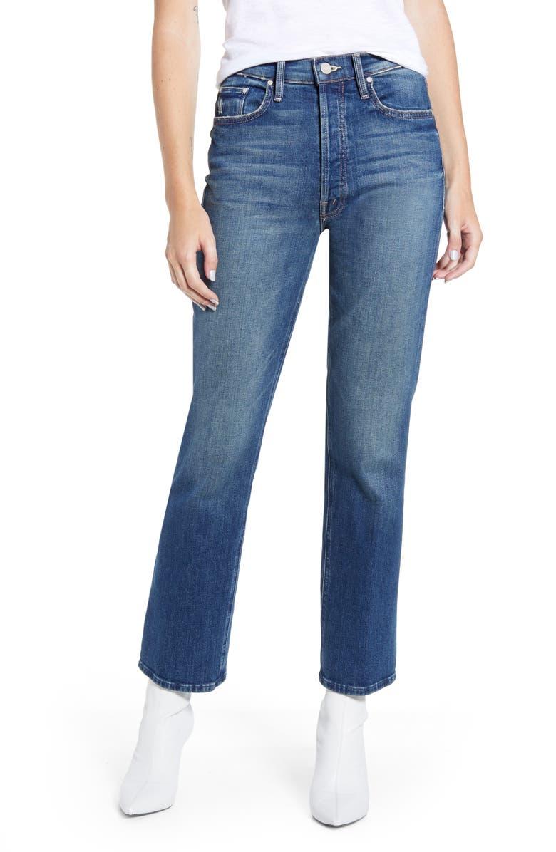 MOTHER The Tripper High Waist Crop Bootcut Jeans, Main, color, GUTTERPUNK