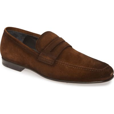 To Boot New York Corbin Penny Loafer- Brown