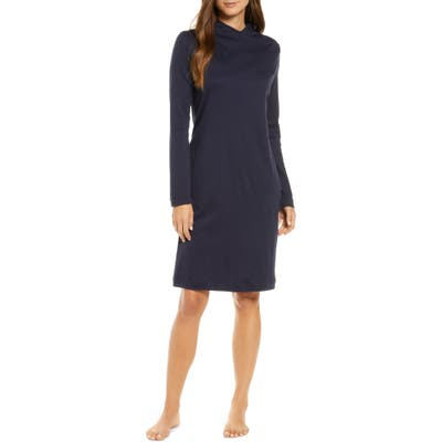 Hanro Luana Long Sleeve Nightgown, Blue