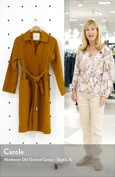 Belted Trench Coat, sales video thumbnail