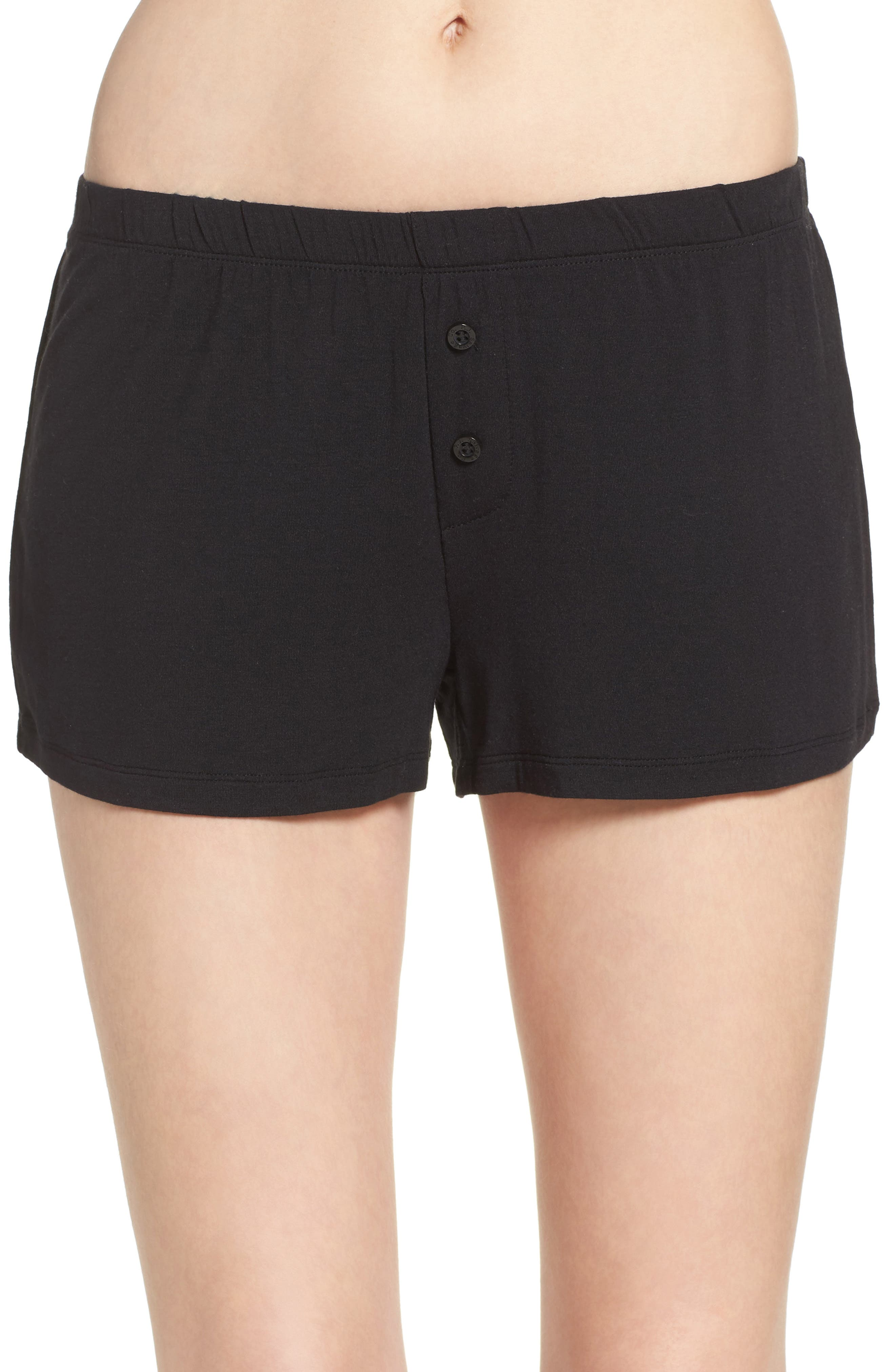 ,                             Shorts,                             Main thumbnail 1, color,                             BLACK