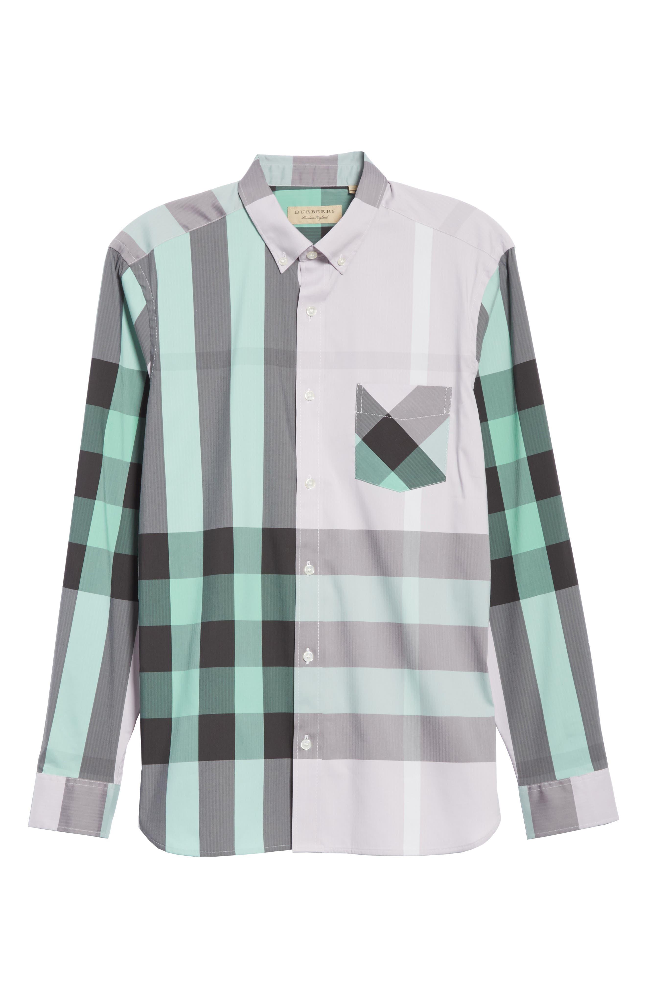,                             Thornaby Slim Fit Plaid Sport Shirt,                             Alternate thumbnail 44, color,                             510