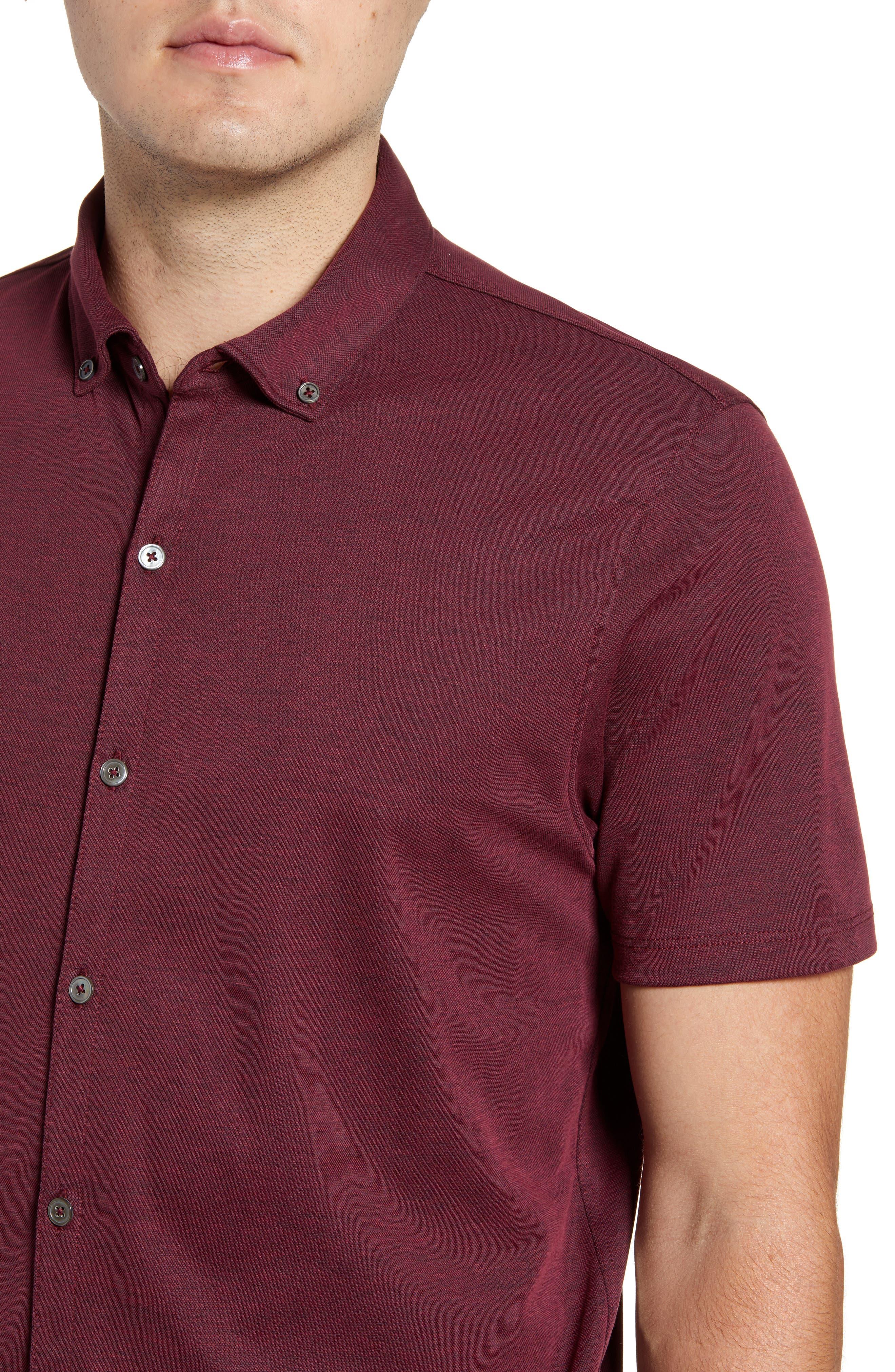 ,                             Caruth Regular Fit Short Sleeve Sport Shirt,                             Alternate thumbnail 39, color,                             930