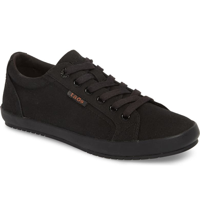 TAOS 'Star' Sneaker, Main, color, BLACK/ BLACK CANVAS