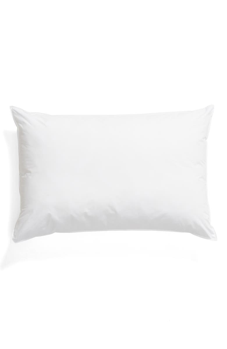 MATOUK Libero Soft 280 Thread Count Pillow, Main, color, WHITE