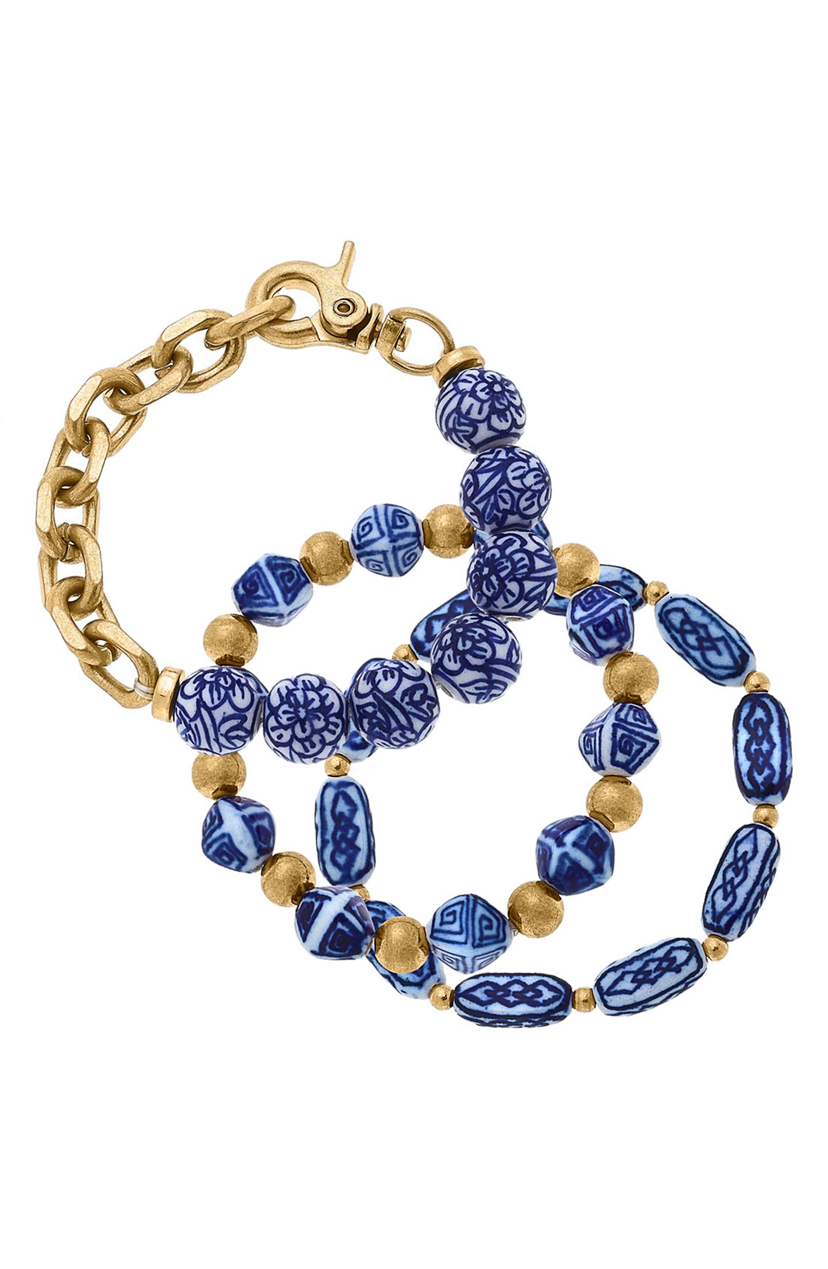 Chinoiserie Bracelet Set