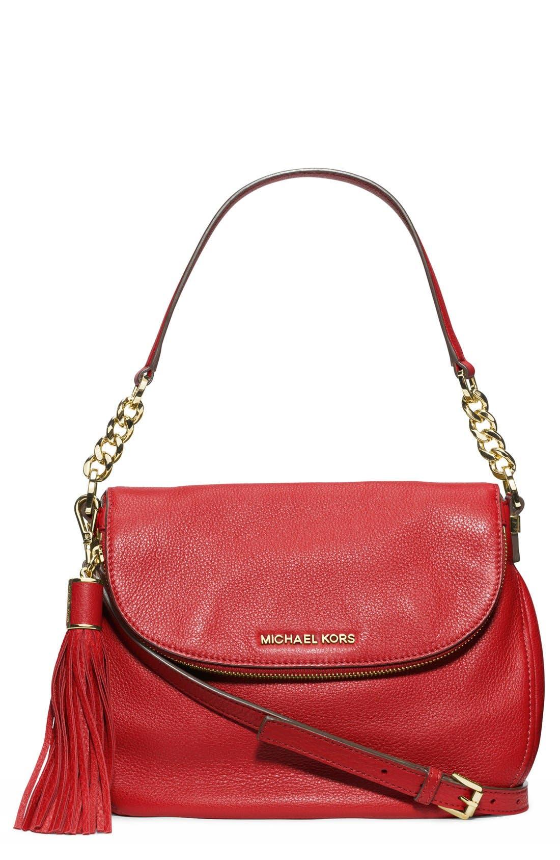 ,                             'Bedford Tassel - Medium' Convertible Leather Shoulder Bag,                             Main thumbnail 41, color,                             600