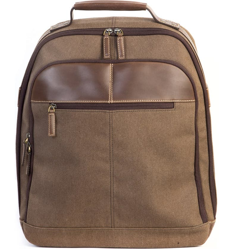 BOCONI 'Bryant LTE' Backpack, Main, color, HEATHER BROWN