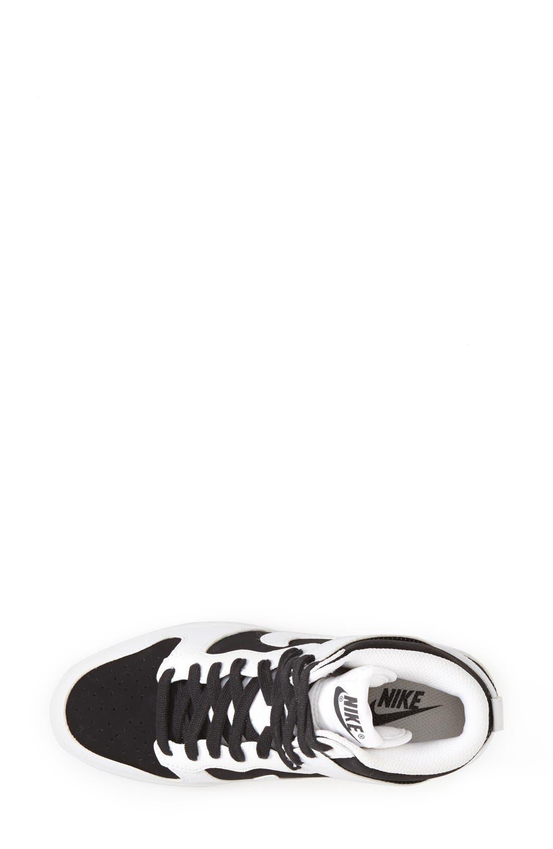 ,                             'Dunk Sky Hi - Essential' Wedge Sneaker,                             Alternate thumbnail 10, color,                             007