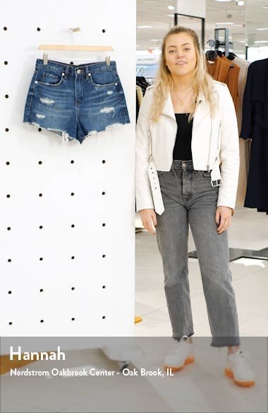 The Barrow Distressed Denim Shorts, sales video thumbnail
