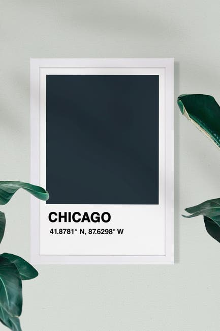 Image of Wynwood Studio Chicago Color Swatch Art
