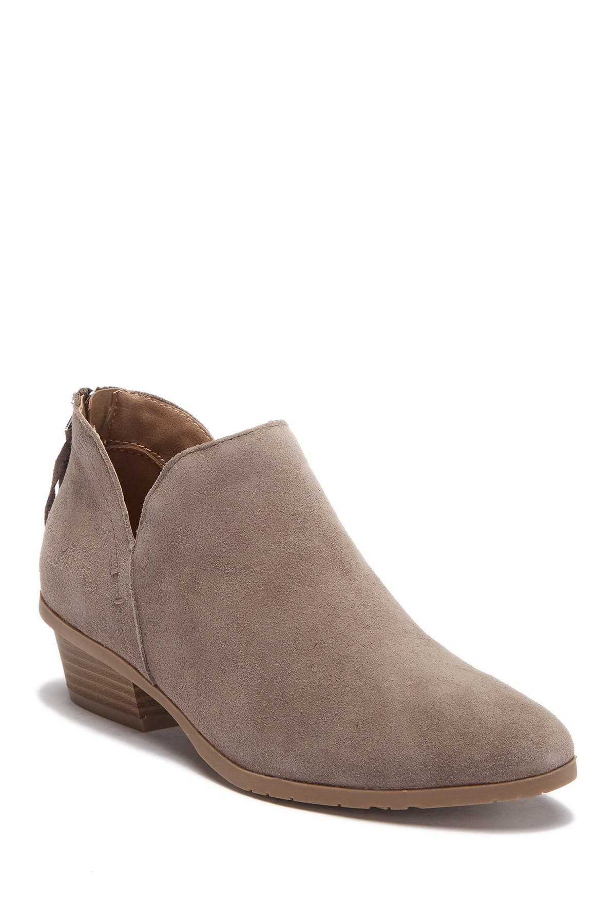 Image of Kenneth Cole Reaction Side Way Suede Ankle Bootie