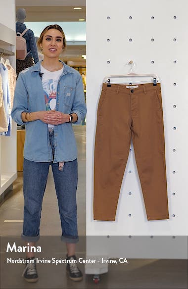 Tapered Stretch Cotton Chino Pants, sales video thumbnail