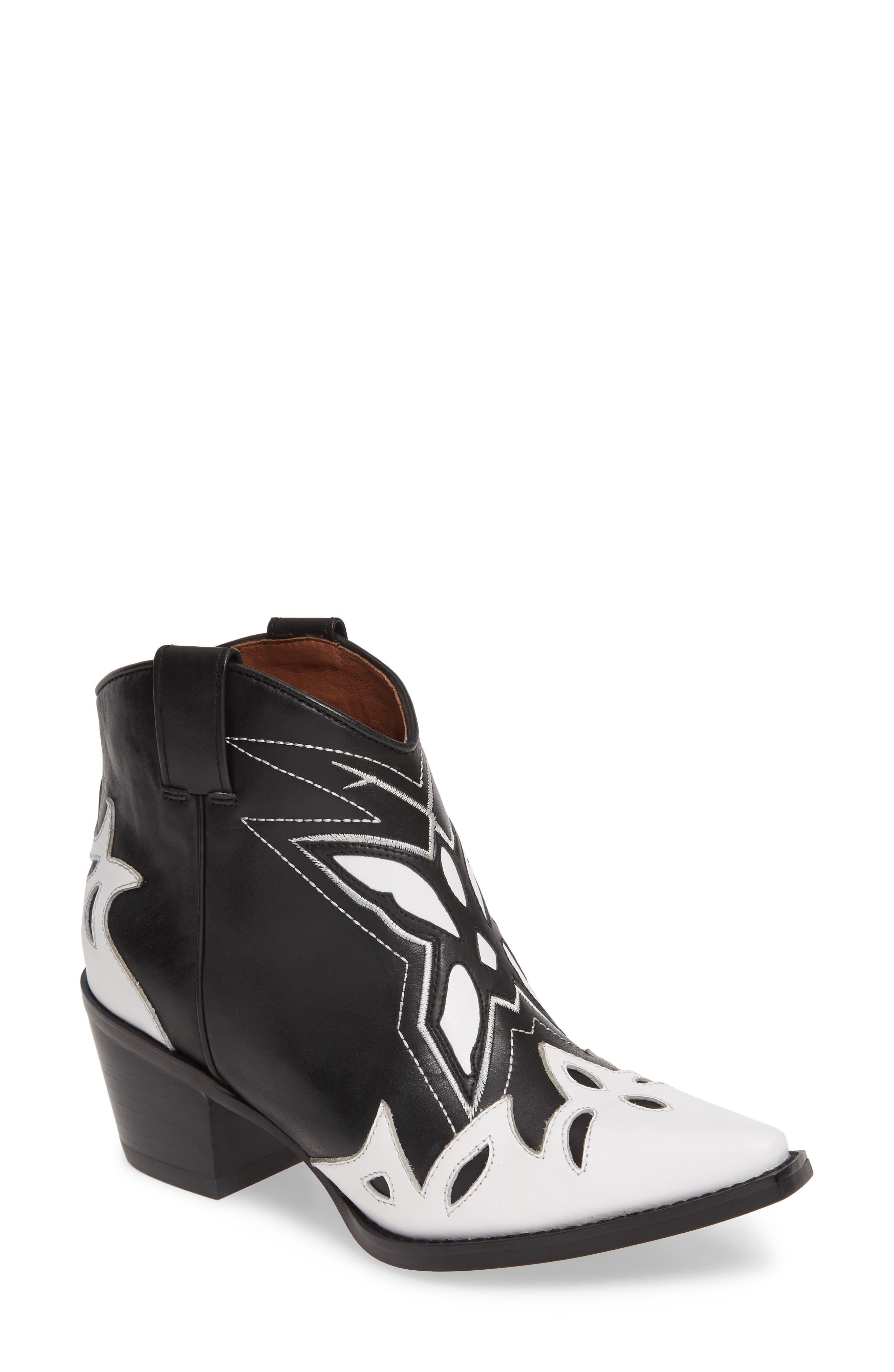 Jeffrey Campbell Tooney Western Boot- Black