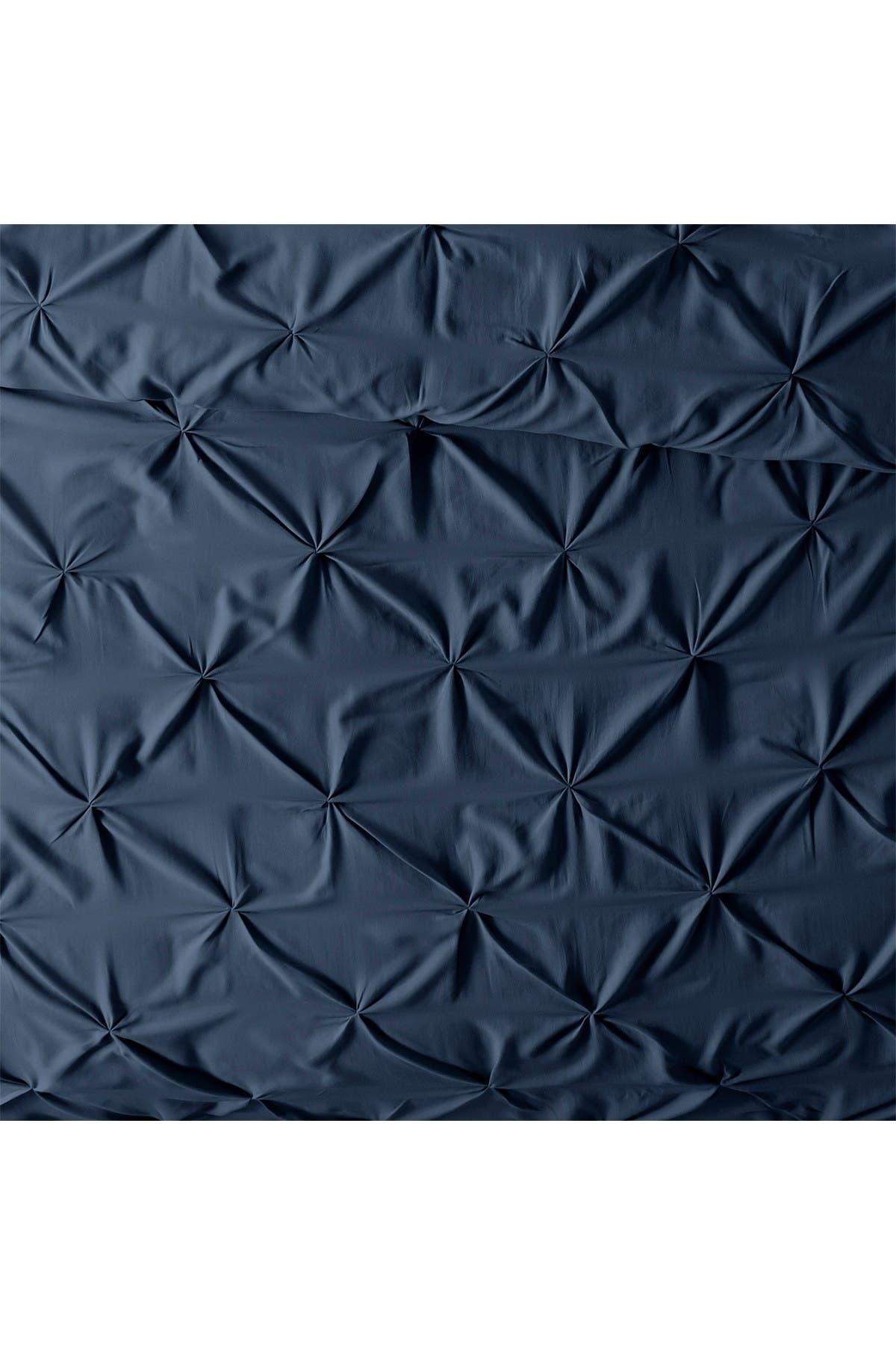 Image of IENJOY HOME Home Collection Premium Ultra Soft 3-Piece Pinch Pleat Duvet Cover Set - Navy - King / California King