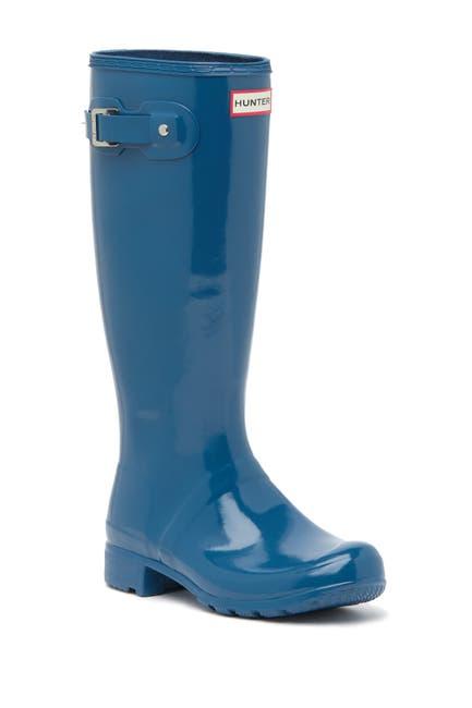 Image of Hunter Original Tour Gloss Packable Rain Boot