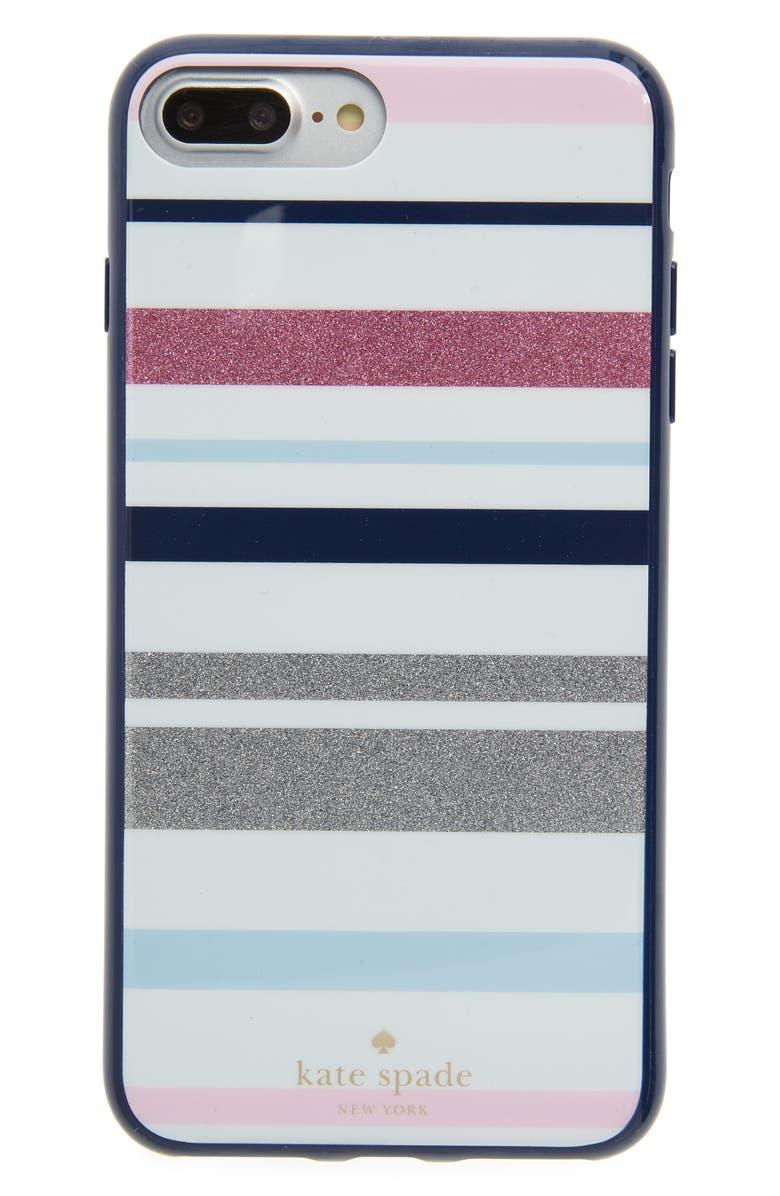 the latest 67641 08aa1 kate spade new york desert stripe iPhone 7/8 & 7/8 Plus case | Nordstrom