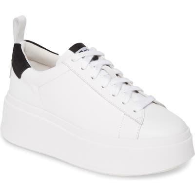 Ash Moon Platform Sneaker, White