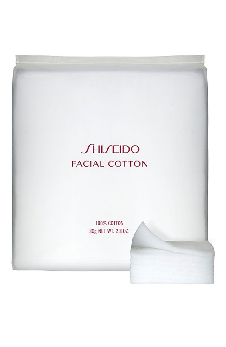 SHISEIDO Facial Cotton, Main, color, NO COLOR