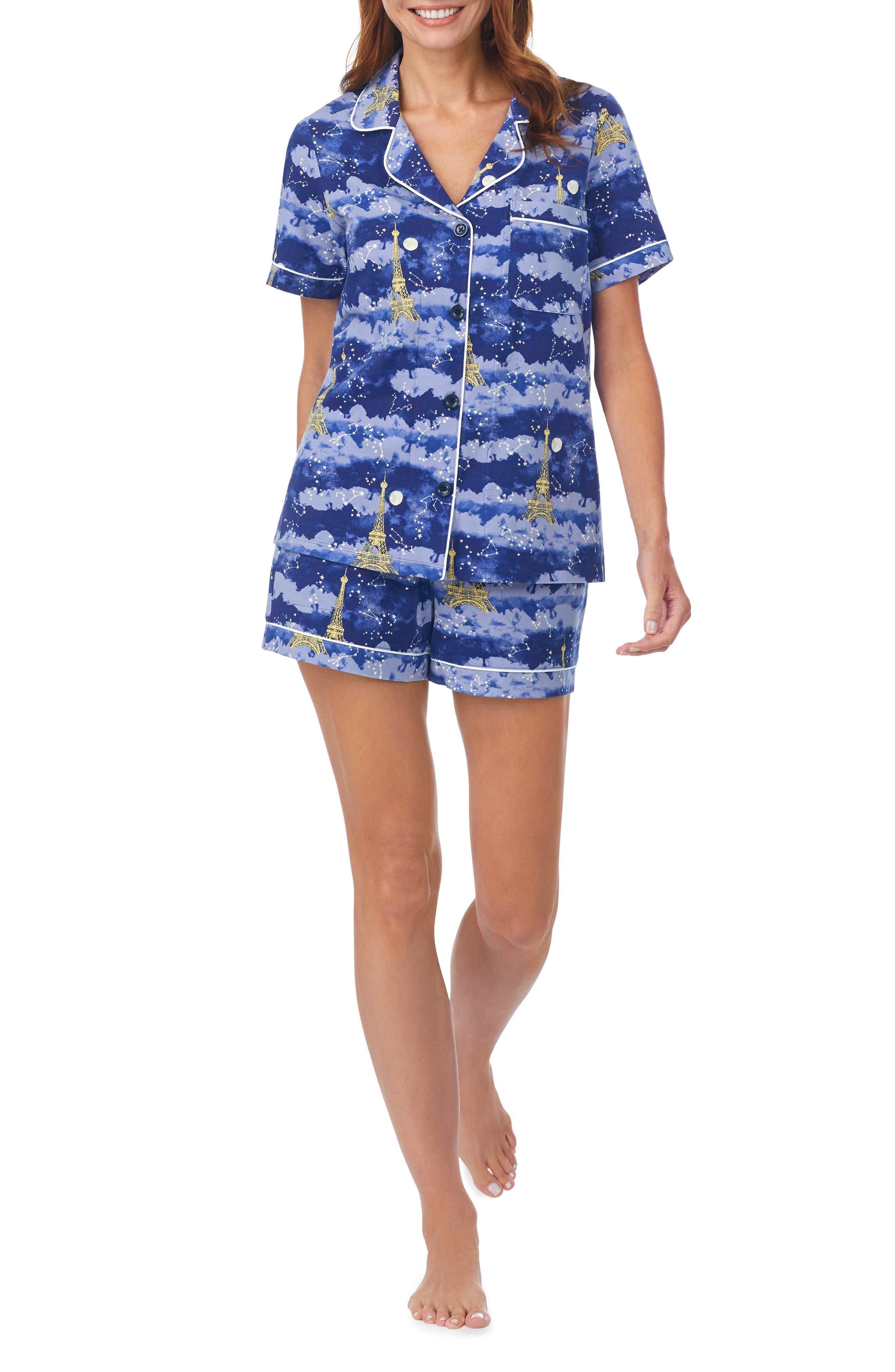 Classic Stretch Organic Cotton Short Pajamas