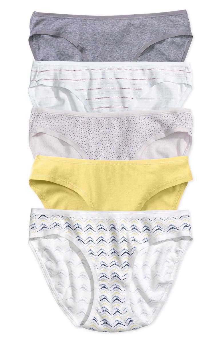 HOLISTIA Organic Cotton Bikini Briefs, Main, color, 686