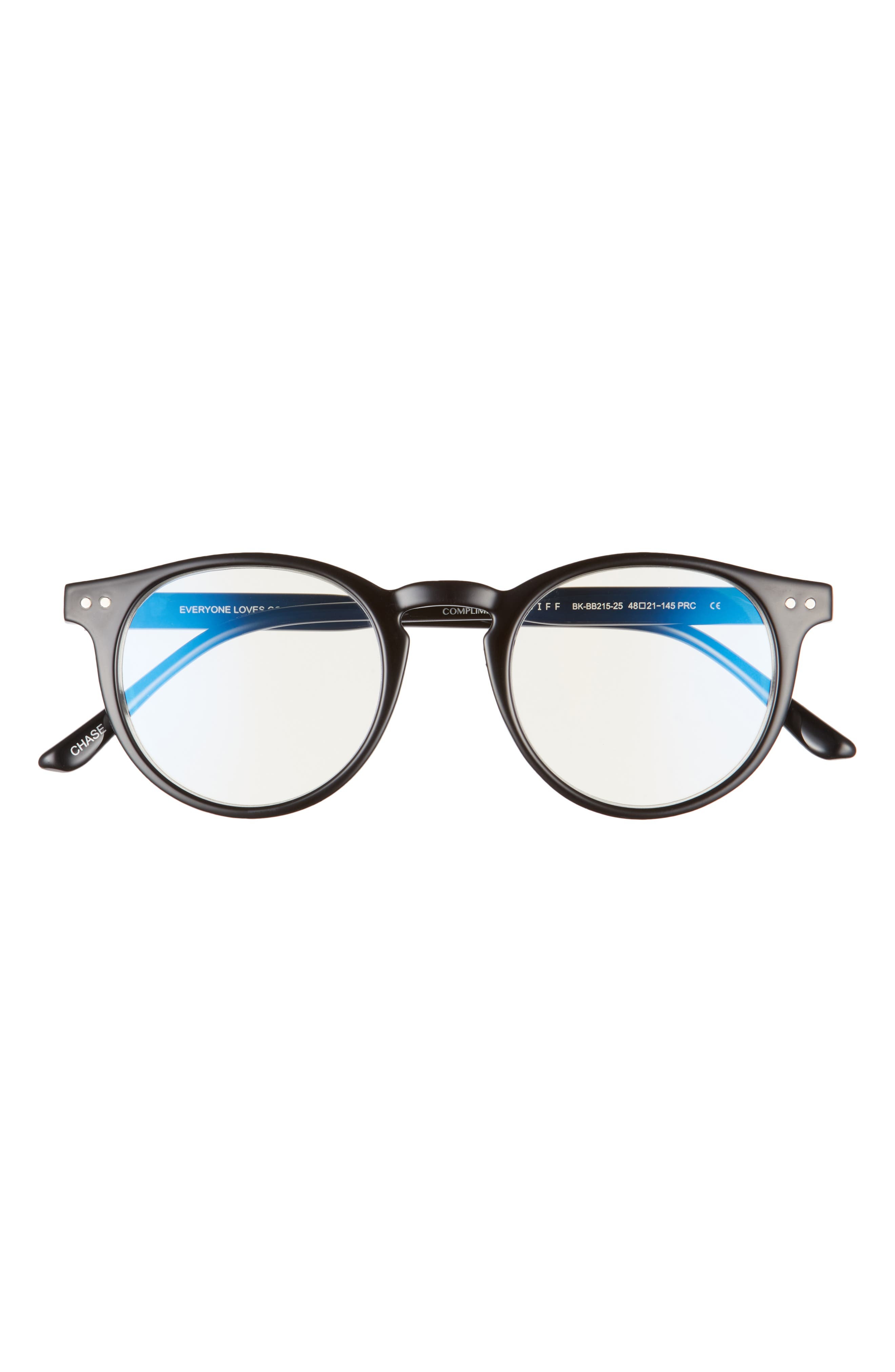 Chase 48mm Small Blue Light Blocking Reading Glasses