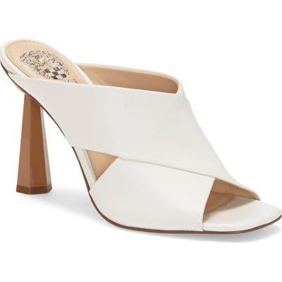 Vince Camuto Averessa Slide Sandal, White