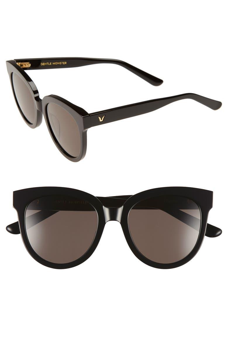 GENTLE MONSTER 'Illusion' 53mm Sunglasses, Main, color, 001