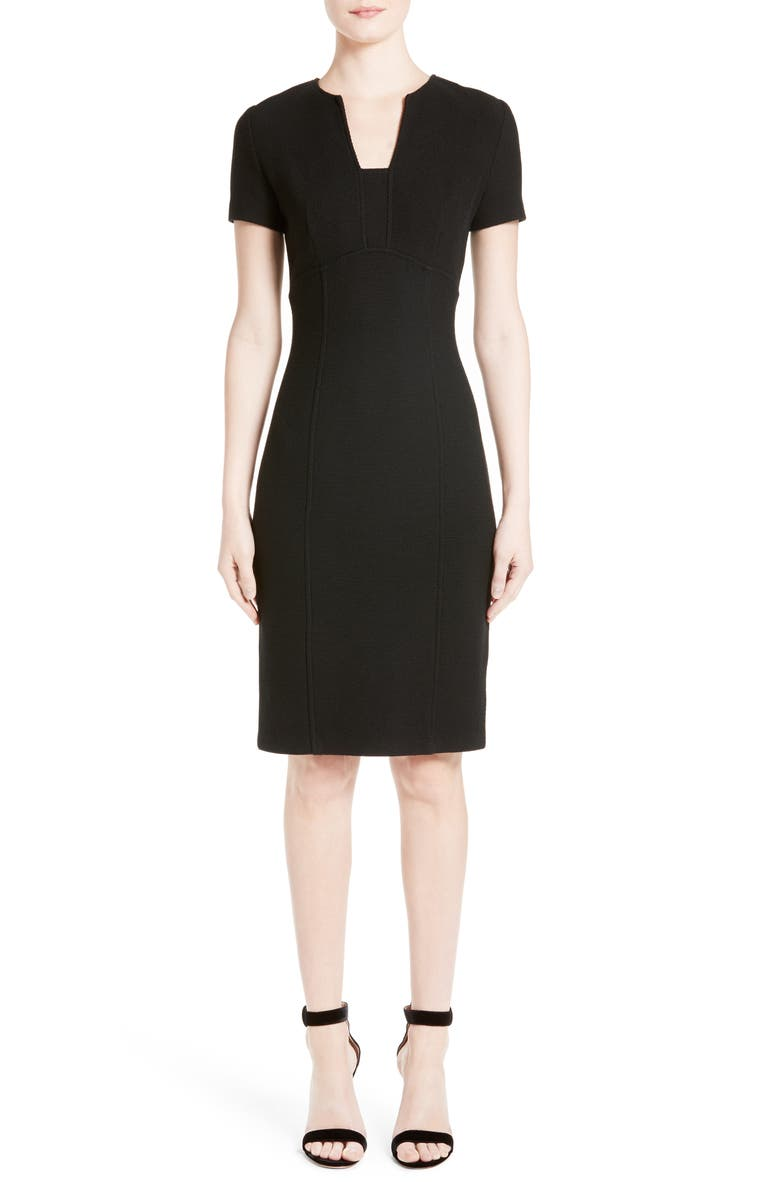 St John Collection Micro Boucl Knit Dress
