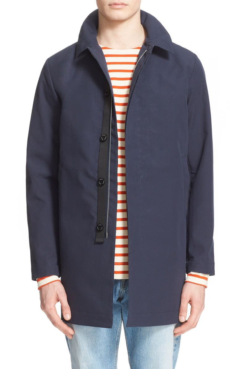 256a0dc5b4a Norse Projects 'Thor' Cotton Mac Jacket | Nordstrom