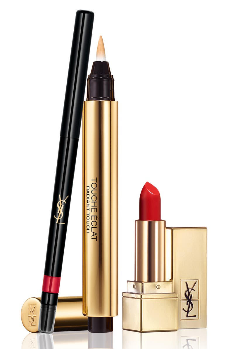 YVES SAINT LAURENT Lip Essentials Kit, Main, color, 000