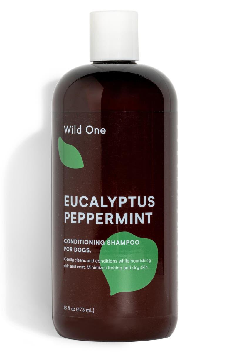 WILD ONE Conditioning Dog Shampoo, Main, color, EUCALYPTUS/ PEPPERMINT