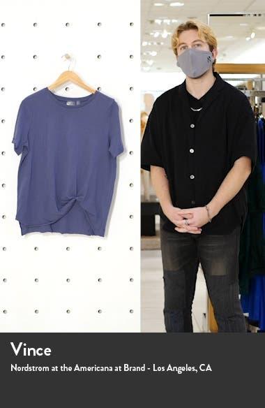 Tuck Front T-Shirt, sales video thumbnail