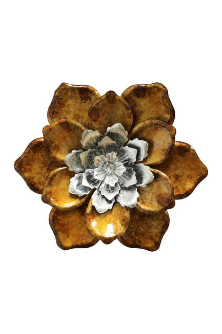 Image of Stratton Home Multi Whimsical Flower Wall Decor