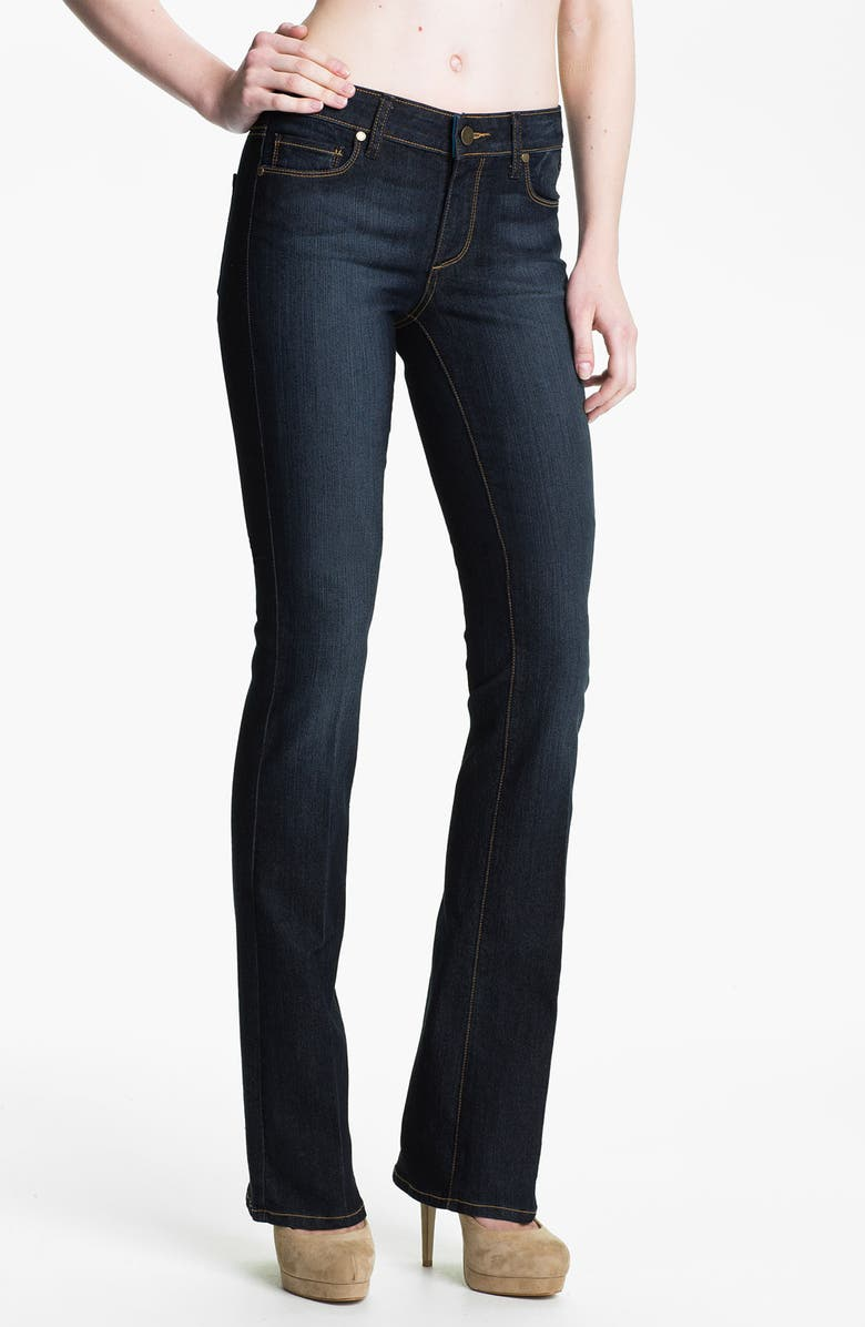 PAIGE Denim 'Manhattan' Baby Bootcut Jeans, Main, color, 400