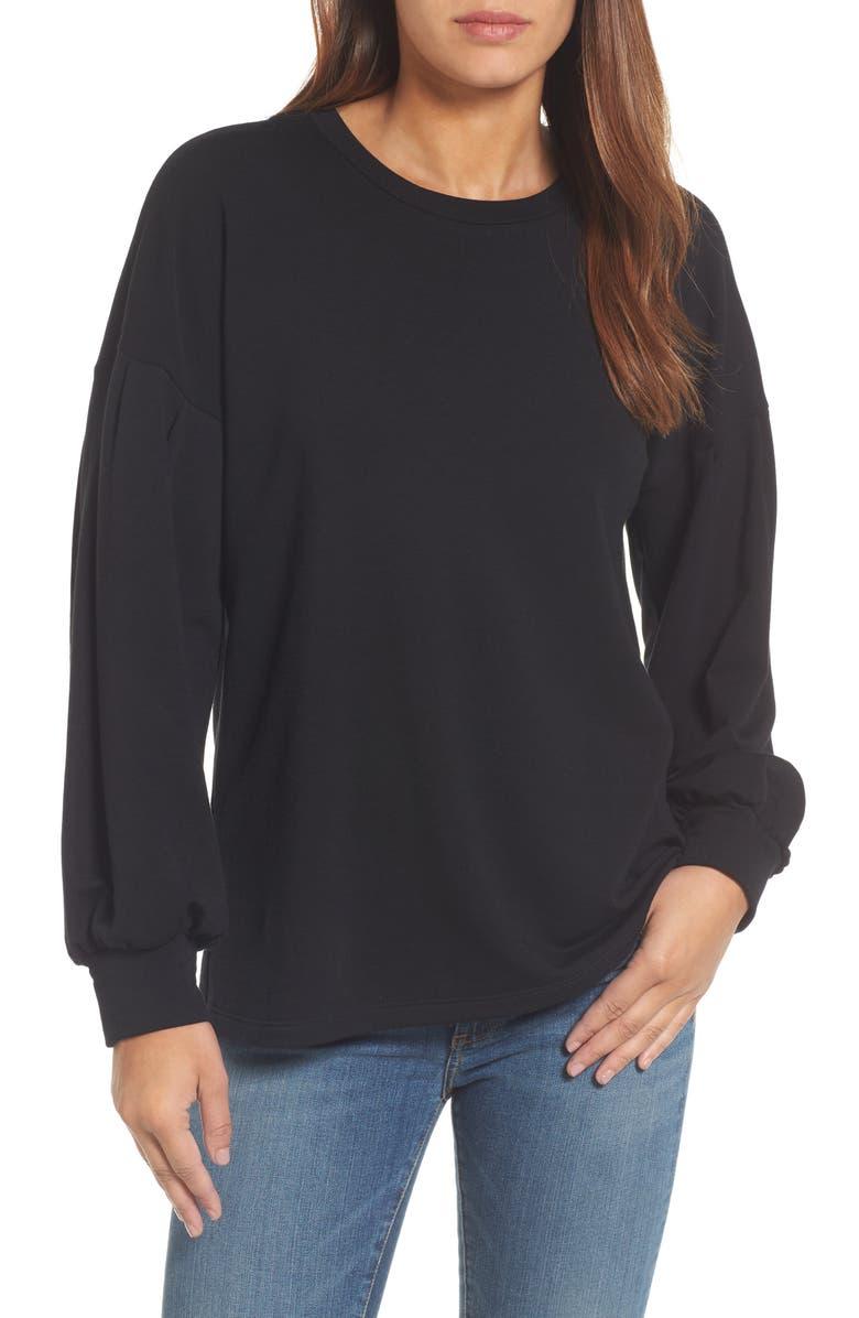 dbfd7c724d4def Pleione Tie Back Sweatshirt | Nordstrom